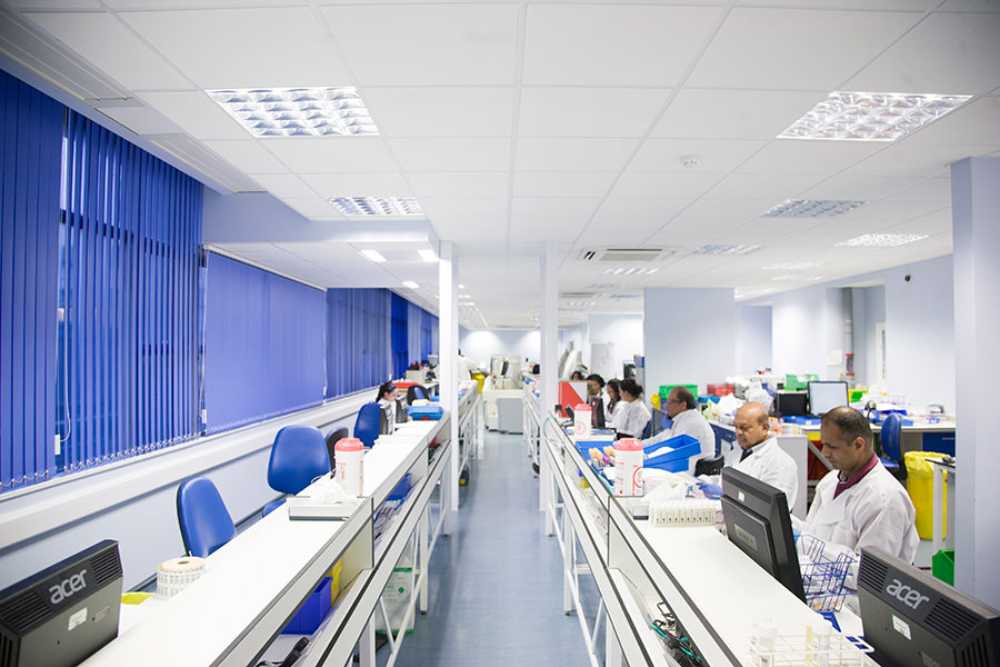Northwick Park Hospital Harrow Laboratory Fit Out
