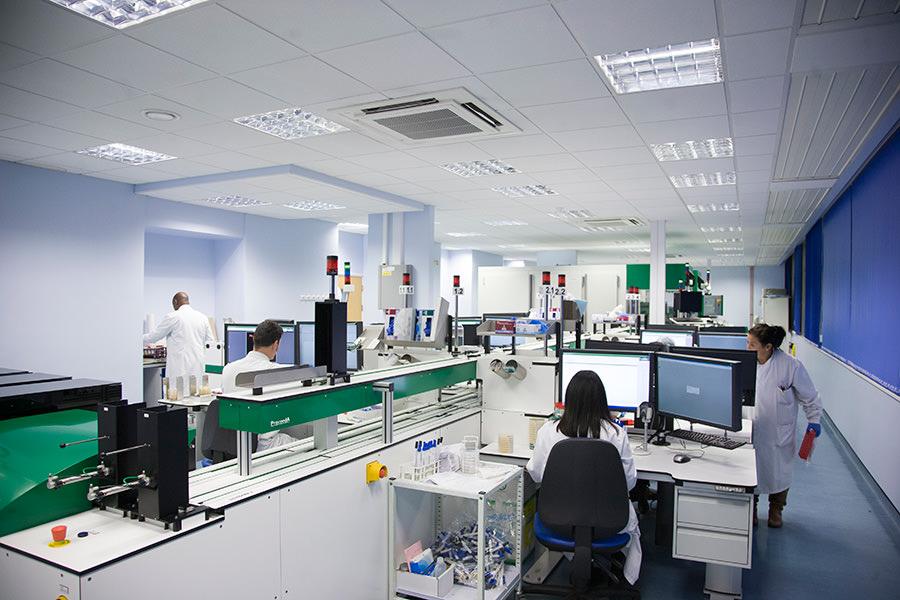 Northwick Park Hospital Harrow Laboratory Fit Out