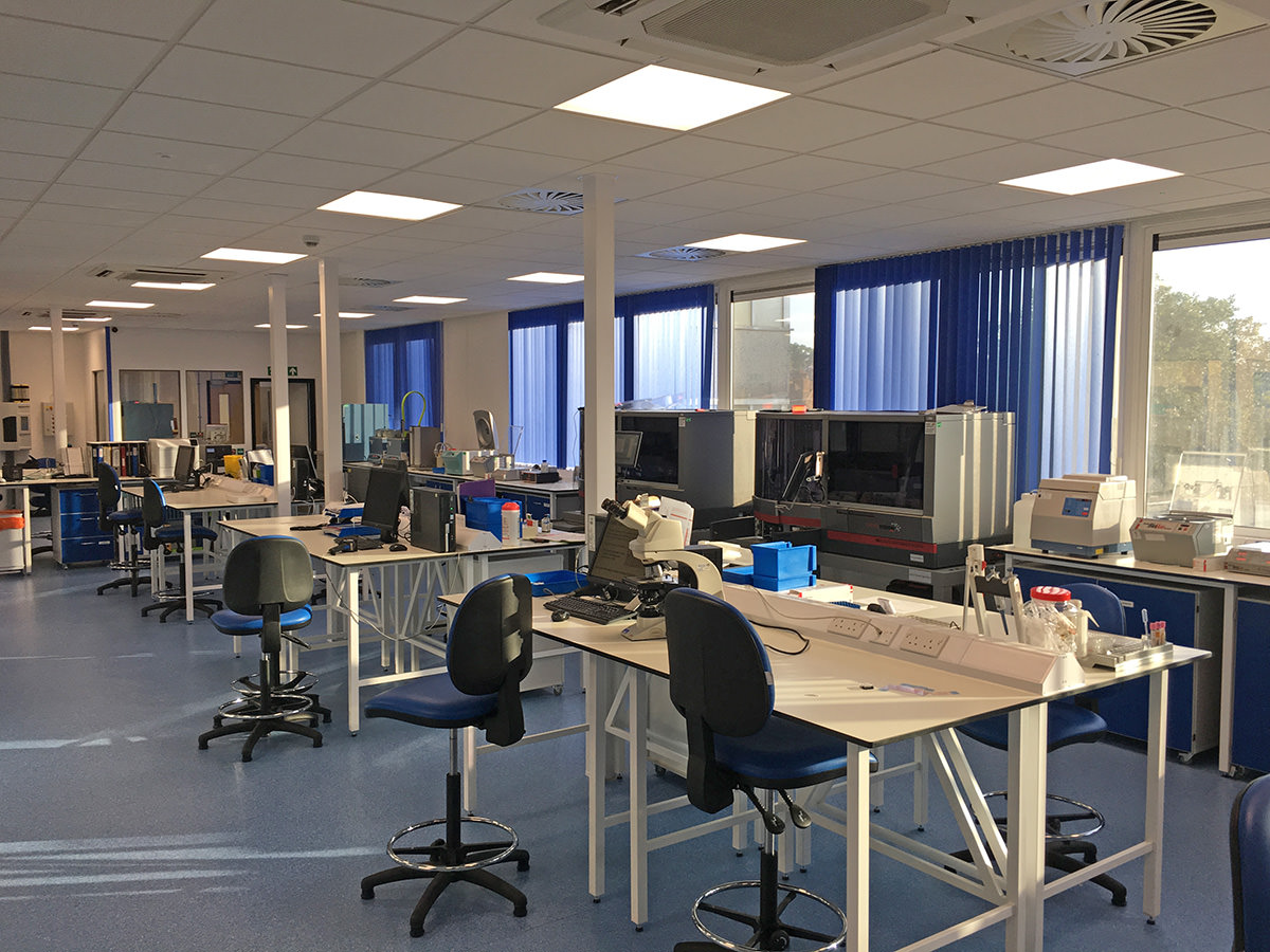 Royal Free Hospital London Office Laboratory Construction
